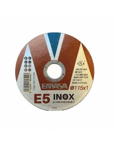 Disco de corte EMASA E5  Ø115